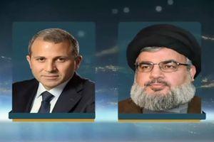 محورهای دیدار رئیس جریان ملی آزاد لبنان با نصرالله