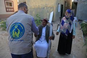 افطاری کمیته امداد غزه
