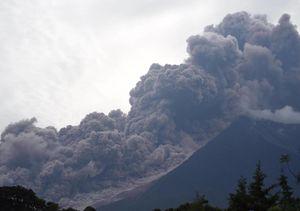 فیلم/ فوران مرگبار آتشفشان در گواتمالا
