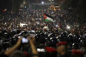عکس/ تظاهرات گسترده ضد دولتی در اردن