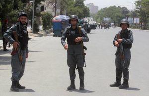 عکس/ انفجار تروریستی در محل گردهمایی علمای افغانستان