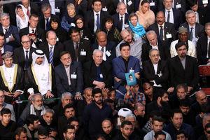 حضور مهمانان خارجی در مراسم سالگرد رحلت امام(ره)