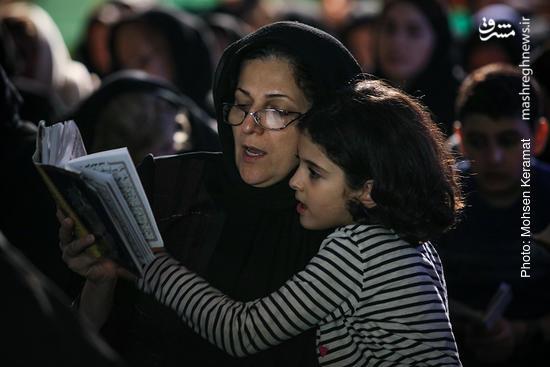 عکس/ مراسم شب قدر در پارک هنرمندان