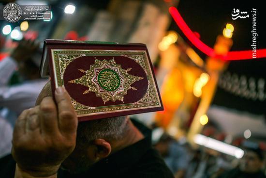 عکس/ حالوهوای شب قدر در حرم حضرت علی(ع)