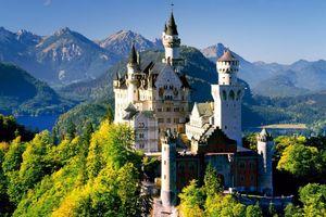 عکس/ زیباترین قلعه جهان