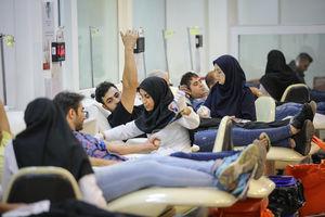 اهدای خون در شب ماه قدر