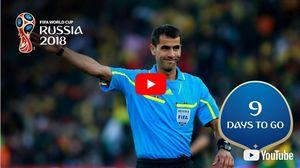 رکورد درخشان داور آسیایی در جام جهانی +عکس و فیلم
