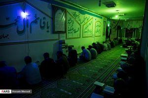عکس/ مراسم شب قدر در زندان اوین