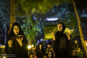 عکس/ شب قدر در گلزار شهداء