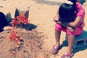 عکسی دردناک از دختر خردسال فلسطینی