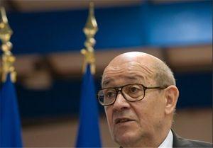 وزیر خارجه فرانسه: طرح های غنی سازی اورانیوم ایران نزدیک به خط قرمز است