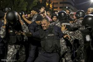 عکس/ تظاهرات ضد دولتی در اردن