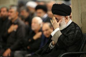 مراسم سوگواری شهادت امام علی(ع) در حضور رهبر معظم انقلاب