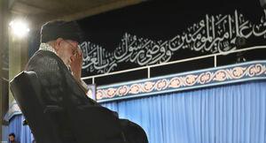 عکس/ مراسم عزاداری شهادت امام علی(ع) در محضر رهبر انقلاب