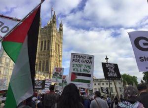 مخالفان سفر نتانیاهو به لندن