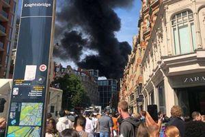 آتشسوزی مهیب در قلب لندن + عکس