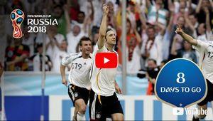 شماره ۸ های به یاد ماندنی تاریخ جام جهانی +عکس و فیلم