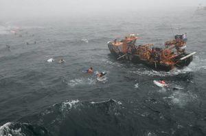 عکس/ رزمایش ضدتروریستی نیروی دریایی کُره