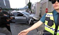 حمله یک خودرو به سفارت آمریکا در سئول