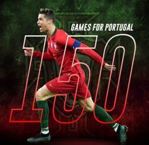 عکس/ رکورد تازه رونالدو در تیم ملی پرتغال