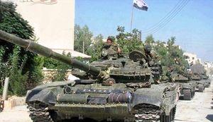 ارتش سوریه به 2 کیلومتری مرز اردن رسید