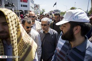 عکس/ حضور مسئولان در راهپیمایی روز قدس