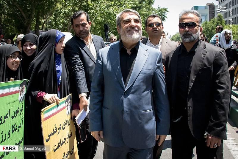 عبدالرضا رحمانی فضلی _ وزیر کشور