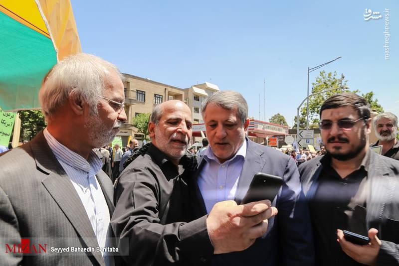 محسن هاشمی _ رئیس شورای شهر تهران