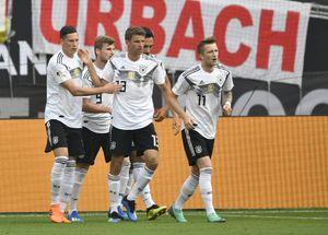 پیروزی خفیف آلمان مقابل عربستان سعودی