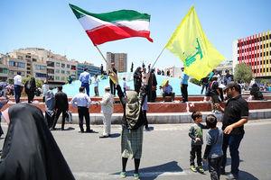 عکس/ راهپیمایی روز قدس در تهران