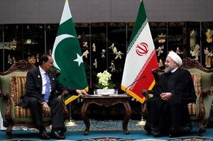 عکس/ دیدار روحانی با رئیس جمهور پاکستان