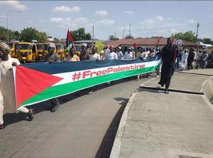 عکس/ راهپیمایی گسترده روز قدس در نیجریه