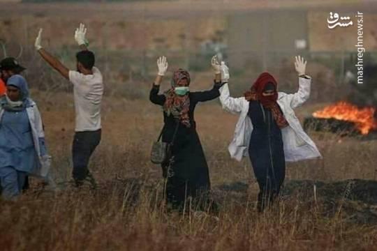 شهادت رزان نجار پرستار بییگناه به دست نظامیان صهیونیستی