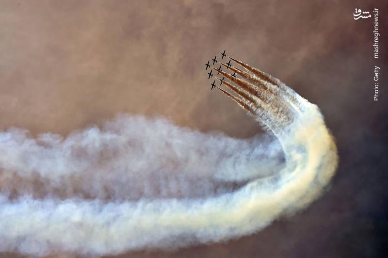 نمایش نیروی هوایی ایتالیا در آستانه روز ملی