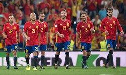 پیروزی اسپانیا در دقایق پایانی مقابل تونس