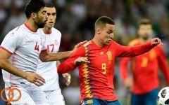 فیلم/ خلاصه دیدار اسپانیا 1-0 تونس