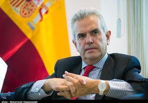 سفیر اسپانیا در ایران: میتوانید اسپانیا را سورپرایز کنید اما ۲ بر صفر شکست میخورید! ,