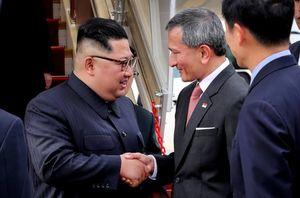 عکس/ «کیم جونگ اون» وارد سنگاپور شد