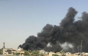جزئیات آتشسوزی در مرکز نگهداری صندوقهای رای در بغداد