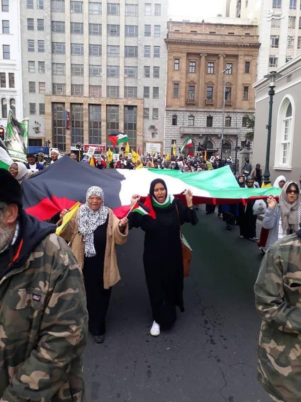 راهپیمایی روز قدس در ژوهانسبورگ