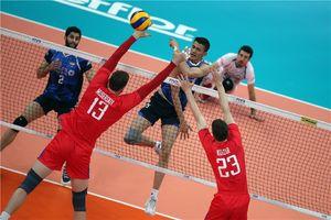 والیبال روسیه و ایران