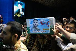 وداع با خلیل تختی نژاد شهید مدافع حرم