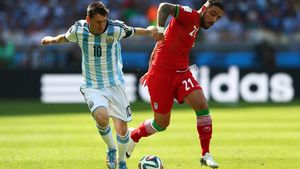 کارنامه ایران در جامهای جهانی