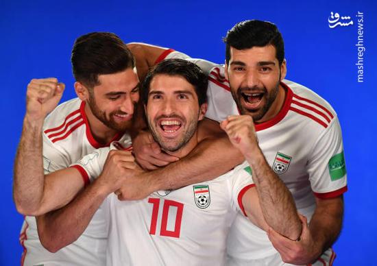 عکس/ بازیکنان تیم ملی ایران در قاب دوربین فیفا