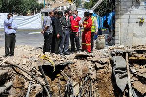 عکس/ خسارات انفجار امروز در قم