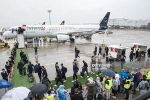 عکس/ هواپیمای اختصاصی تیم ملی آلمان