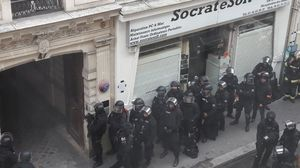 گروگانگیری با بمب در پاریس +عکس