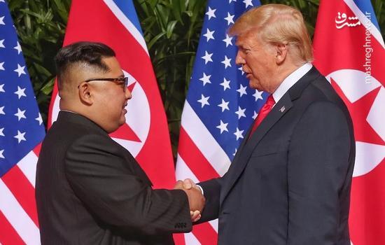 عکس/ دیدار ترامپ با اون
