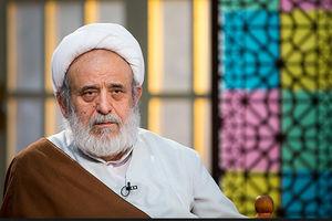 فیلم/ اشکهای شیخ حسین انصاریان بر پیکر برادرزادهاش
