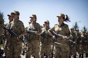 عکس/ یگان زنان ارتش ترکیه